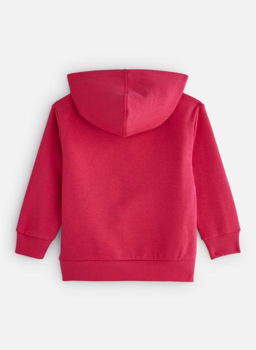 Vêtements FILA CLASSIC Logo Hoody Rose vue bas / vue portée sac