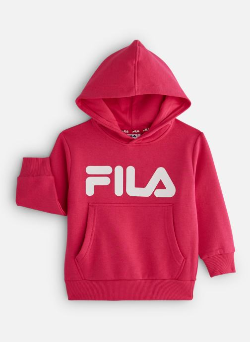 Vêtements FILA CLASSIC Logo Hoody Rose vue détail/paire