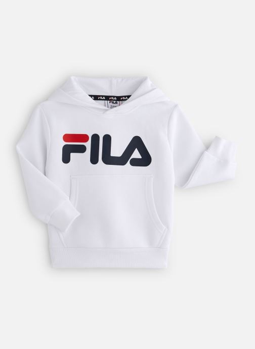 Vêtements FILA CLASSIC Logo Hoody Blanc vue détail/paire