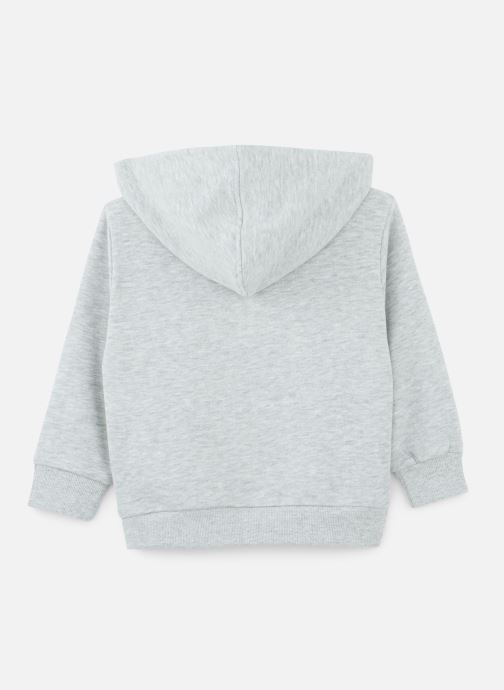 Vêtements FILA CLASSIC Logo Hoody Gris vue bas / vue portée sac