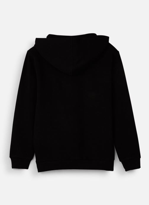 Vêtements FILA CLASSIC Logo Hoody Noir vue bas / vue portée sac