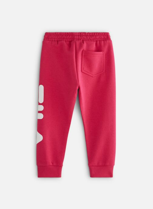 Vêtements FILA CLASSIC Logo Pants Rose vue bas / vue portée sac