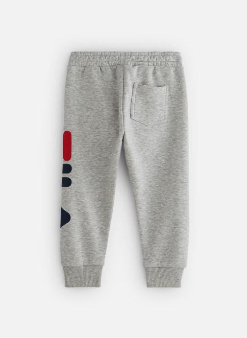 Vêtements FILA CLASSIC Logo Pants Gris vue bas / vue portée sac