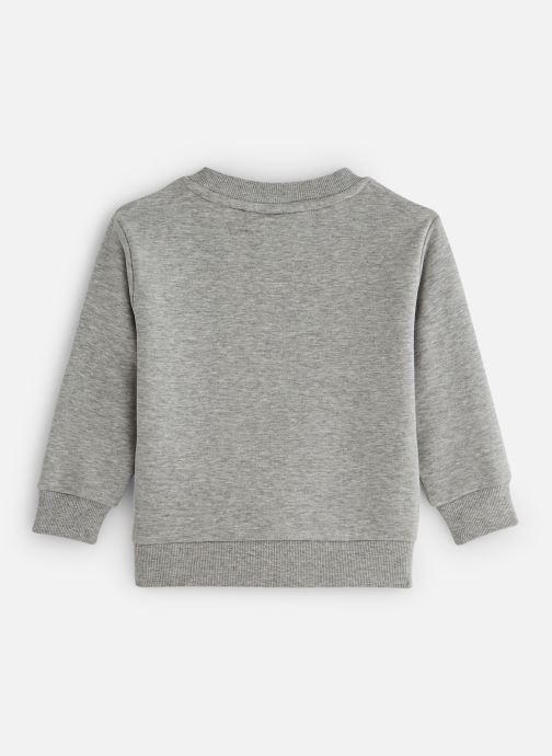 Vêtements FILA CLASSIC Logo Crew Shirt Gris vue bas / vue portée sac