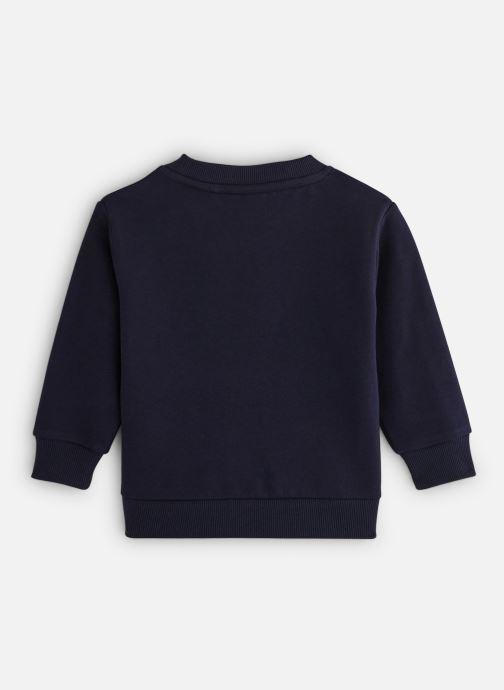 Vêtements FILA CLASSIC Logo Crew Shirt Noir vue bas / vue portée sac