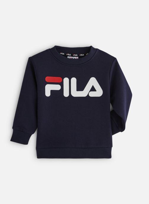 Vêtements FILA CLASSIC Logo Crew Shirt Noir vue détail/paire