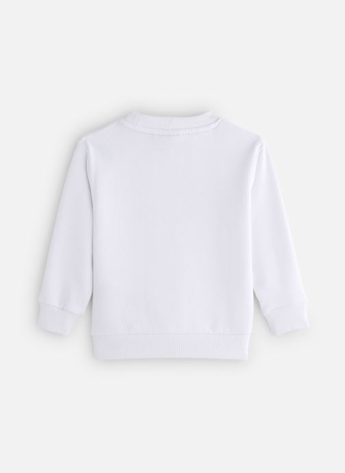 Vêtements FILA CLASSIC Logo Crew Shirt Blanc vue bas / vue portée sac