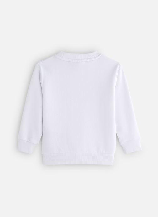 Tøj FILA CLASSIC Logo Crew Shirt Hvid se forneden