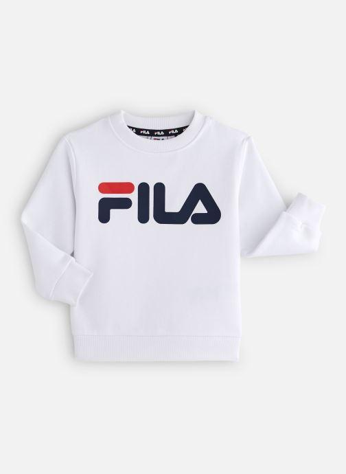 Vêtements FILA CLASSIC Logo Crew Shirt Blanc vue détail/paire