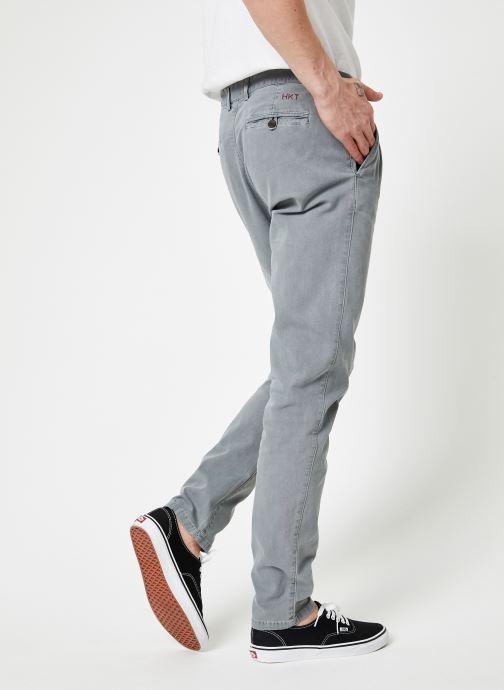 Vêtements Hackett London HM211863L Gris vue portées chaussures
