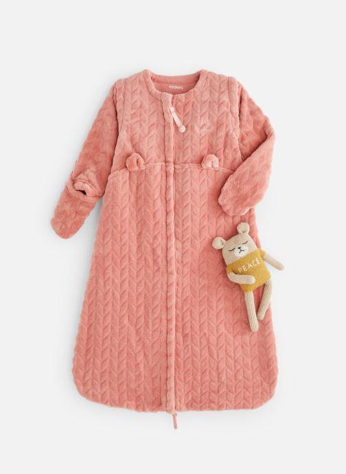 Vêtements Noukies Gigoteuse 70cm (1-6mois)TOG 2,0-3,5 Rose vue détail/paire