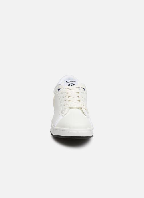 Baskets Vespa Freccia Mesh Blanc vue portées chaussures