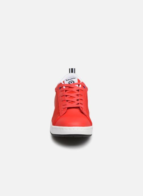 Baskets Vespa Freccia Mesh Rouge vue portées chaussures
