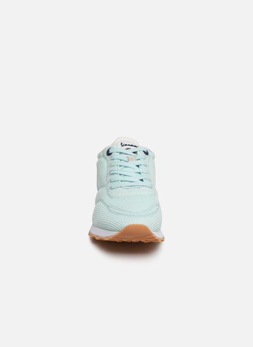Baskets Vespa Corsa Vert vue portées chaussures