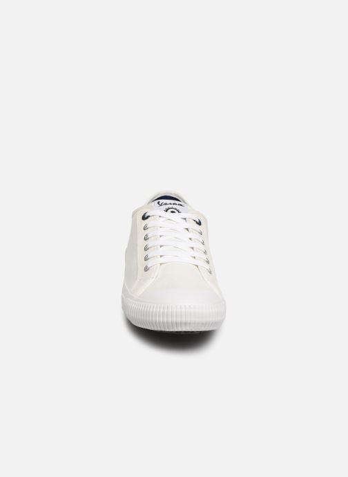 Baskets Vespa Valvola Blanc vue portées chaussures