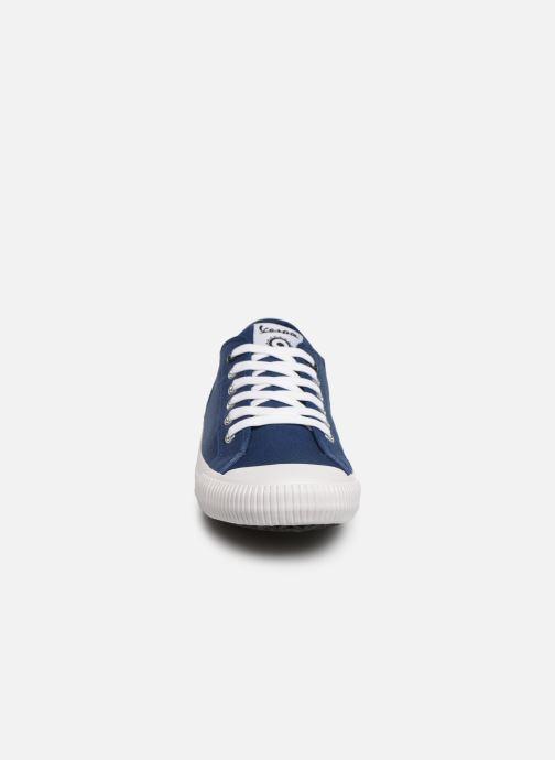 Baskets Vespa Valvola Bleu vue portées chaussures