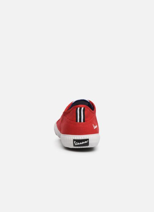 Baskets Vespa Valvola W Rouge vue droite