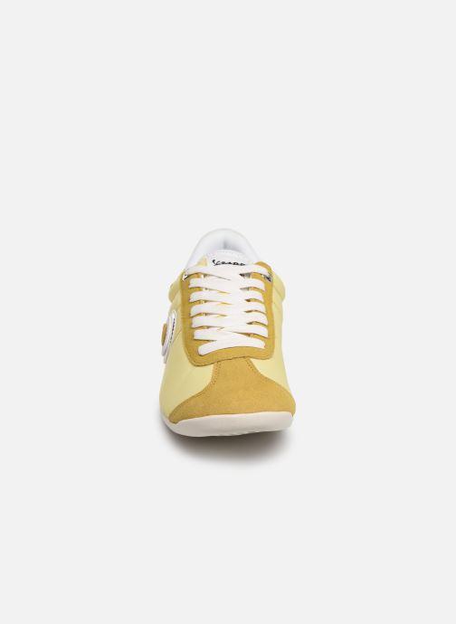 Baskets Vespa Missy Jaune vue portées chaussures