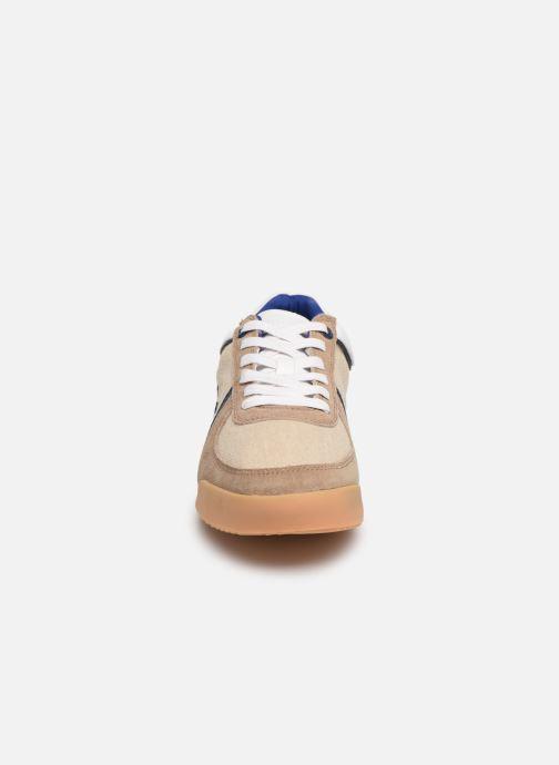 Baskets Vespa Ace Beige vue portées chaussures