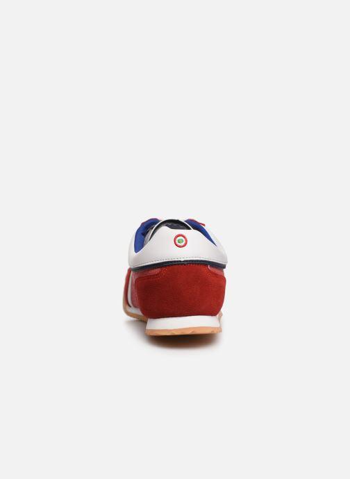 Baskets Vespa Ace Rouge vue droite