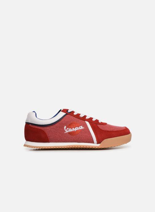 Sneakers Vespa Ace Rood achterkant