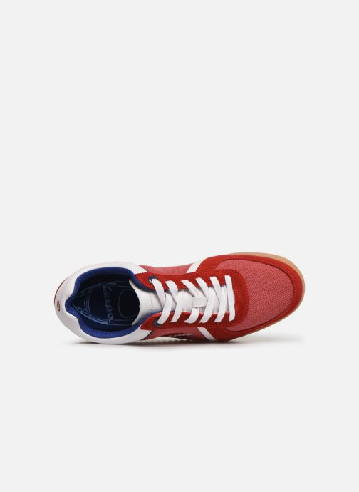 Sneakers Vespa Ace Rood links
