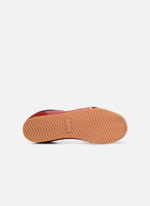 Baskets Vespa Ace Rouge vue haut