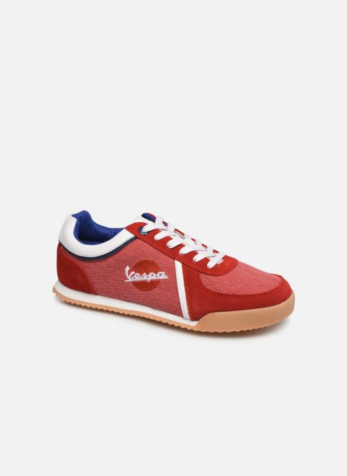 Sneakers Vespa Ace Rood detail
