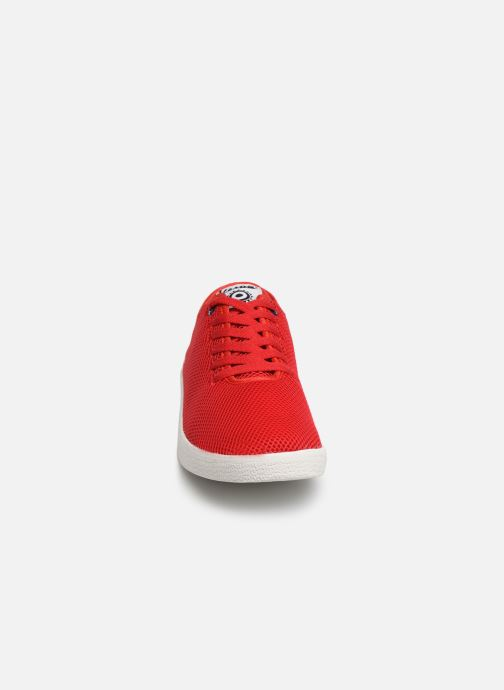 Baskets Vespa Breeze Rouge vue portées chaussures