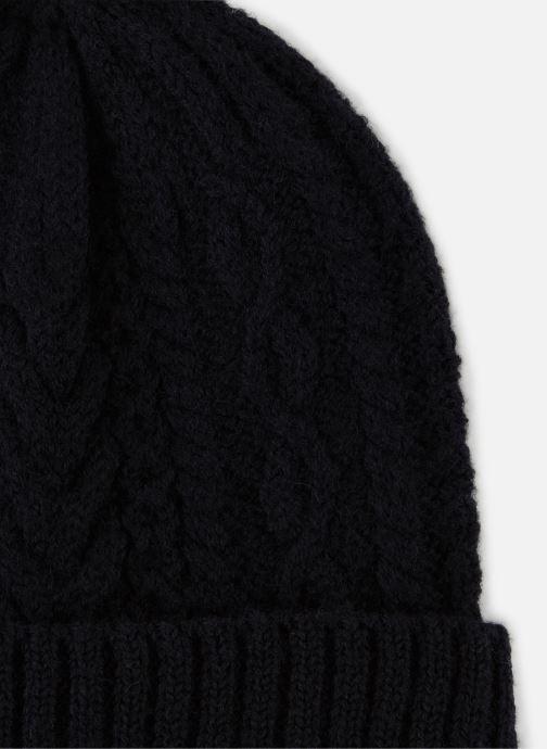 Bonnets Monoprix Homme Bonnet laine Bleu vue portées chaussures