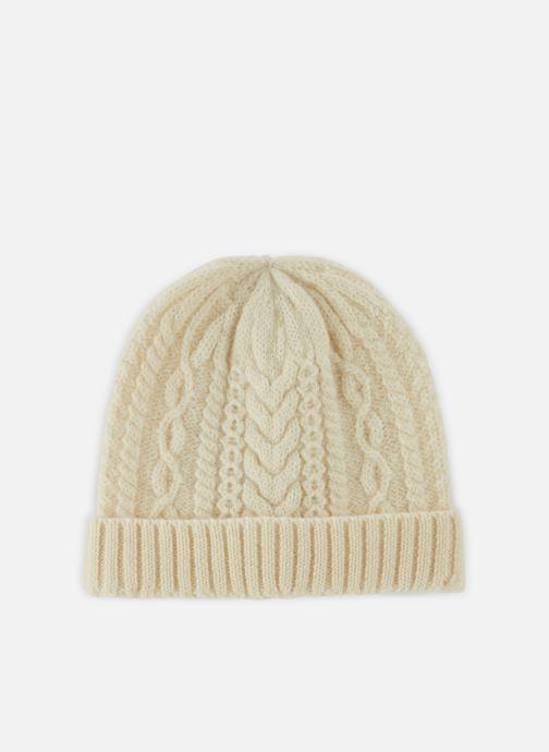 Mütze Monoprix Homme Bonnet laine weiß detaillierte ansicht/modell