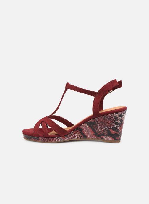 Sandales et nu-pieds Tamaris ISOR Bordeaux vue face