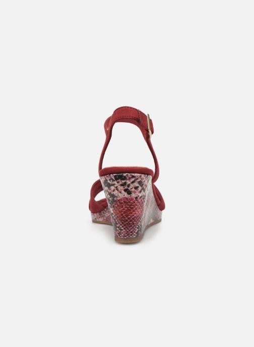 Sandales et nu-pieds Tamaris ISOR Bordeaux vue droite