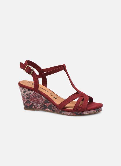 Sandales et nu-pieds Tamaris ISOR Bordeaux vue derrière
