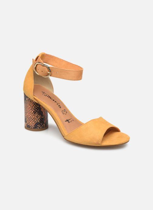 tamaris gelbe sandalen