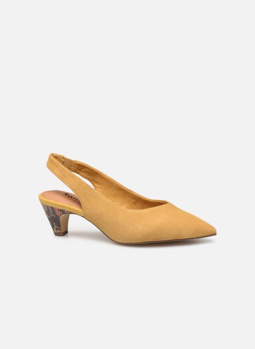 High heels Tamaris JOANA Yellow back view