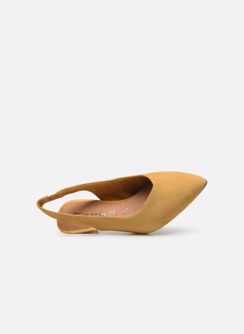 Zapatos de tacón Tamaris JOANA Amarillo vista lateral izquierda