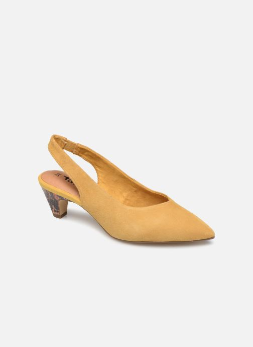 High heels Tamaris JOANA Yellow detailed view/ Pair view