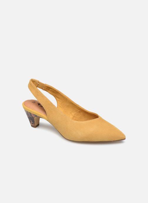Zapatos de tacón Tamaris JOANA Amarillo vista de detalle / par