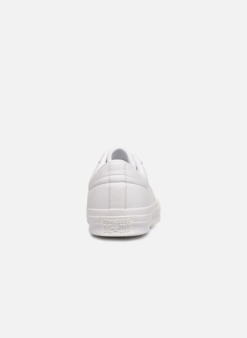 Trainers Converse One Star Triple Leather Ox White view from the right