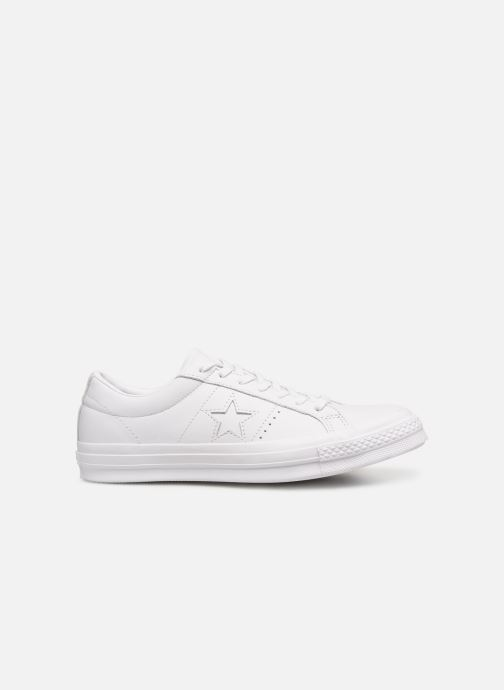 Baskets Converse One Star Triple Leather Ox Blanc vue derrière