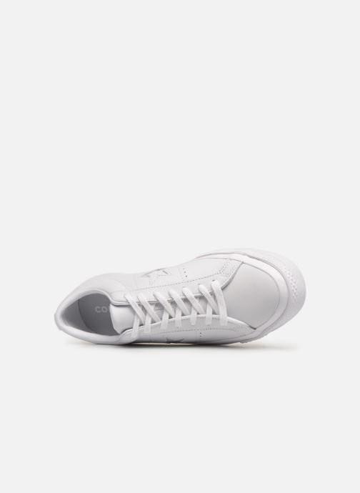 Trainers Converse One Star Triple Leather Ox White view from the left