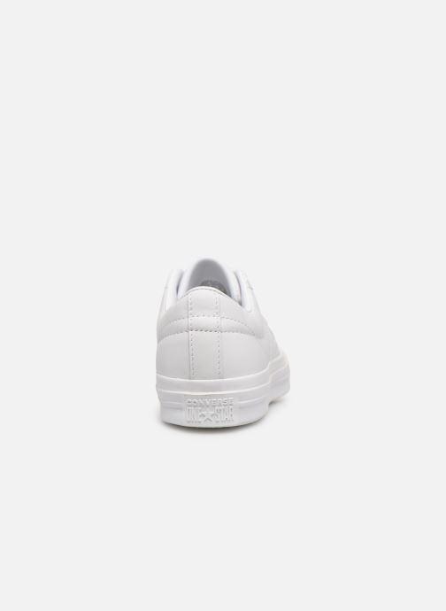 Sneaker Converse One Star Triple Leather Ox W weiß ansicht von rechts