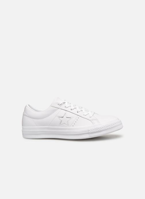 Trainers Converse One Star Triple Leather Ox W White back view