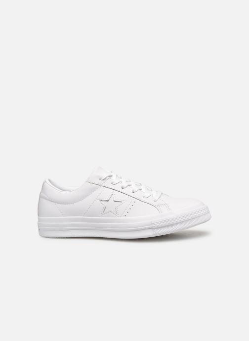 Sneaker Converse One Star Triple Leather Ox W weiß ansicht von hinten