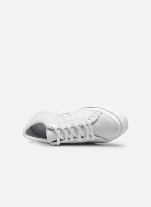 Deportivas Converse One Star Triple Leather Ox W Blanco vista lateral izquierda