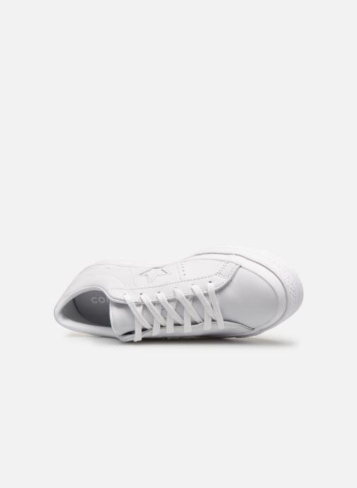 Sneaker Converse One Star Triple Leather Ox W weiß ansicht von links