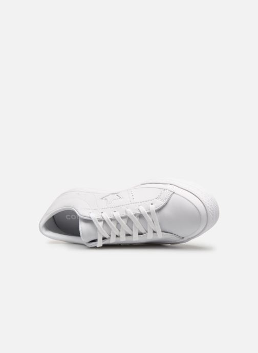 Sneakers Converse One Star Triple Leather Ox W Bianco immagine sinistra