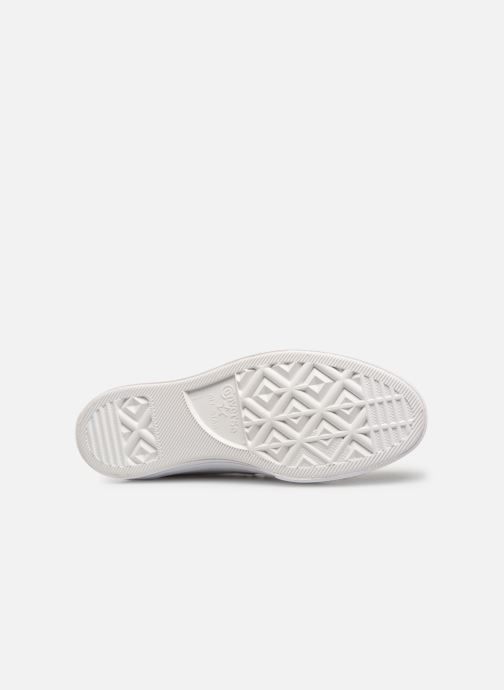 Sneaker Converse One Star Triple Leather Ox W weiß ansicht von oben