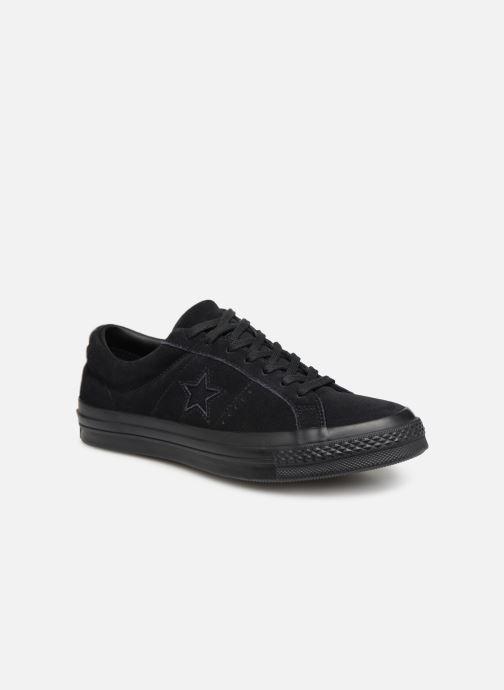 Sneakers Converse One Star OG Suede Ox M Sort detaljeret billede af skoene